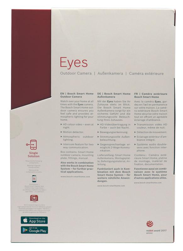bosch smart home eyes au enkamera test die technischen daten. Black Bedroom Furniture Sets. Home Design Ideas
