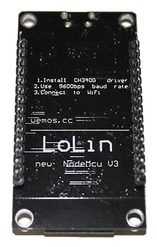 ESP8266 Modul Test Aufbau, Design und sonstige Features